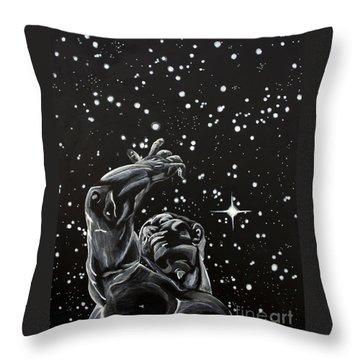 Skyward Throw Pillow by Denise Deiloh