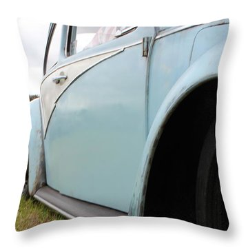 Slammed Throw Pillow