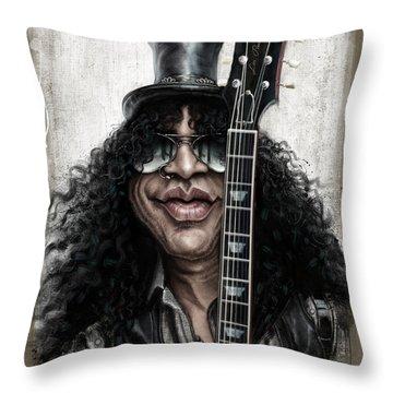 Music Rock Guns N Roses Throw Pillows