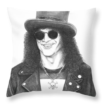 Slash Throw Pillow by Murphy Elliott