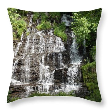 Slatebrook Falls Throw Pillow