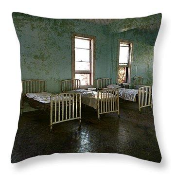 Sleep It Off Throw Pillow