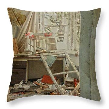 Sleep Overs  Throw Pillow by Jerry Cordeiro