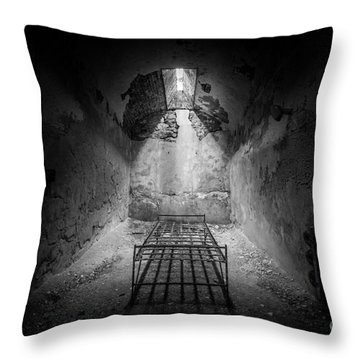 Sleep Tight Throw Pillow by Michael Ver Sprill