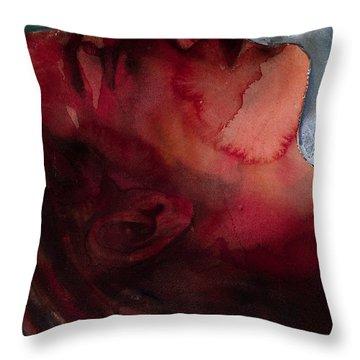 Sleeper Head Throw Pillow by Graham Dean