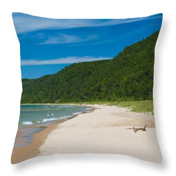 Sleeping Bear Dunes National Lakeshore Throw Pillow