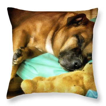 Sleeping Beauty 01 Throw Pillow by Kevin Chippindall