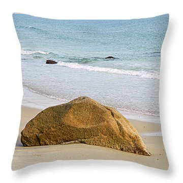 Sleeping Giant  Throw Pillow by Kathy Barney