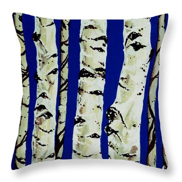 Sleeping Giants Throw Pillow