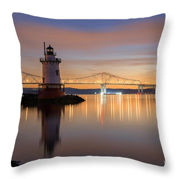 Sleepy Hollow Light Reflections  Throw Pillow