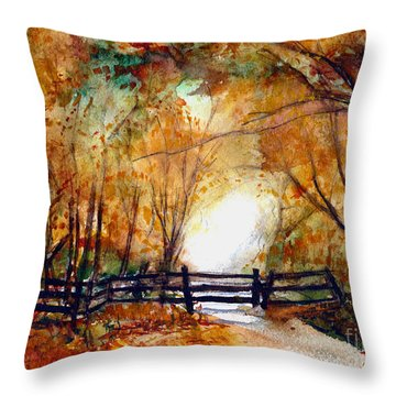Sleepy Hollow Throw Pillow by Randy Sprout