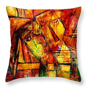 Sleepy - Marucii Throw Pillow