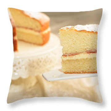 Slice Of Cake Throw Pillow
