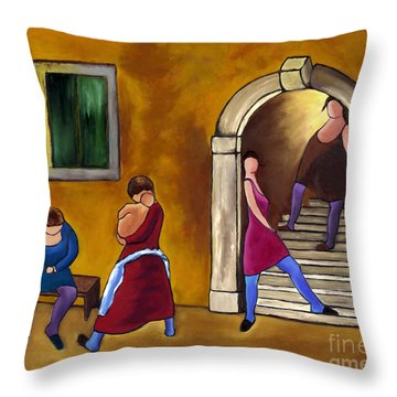 Slice Of Life  Throw Pillow by William Cain