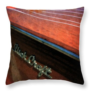 Slick Craft Powerboat Throw Pillow
