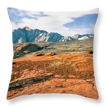 Slickrock Throw Pillows