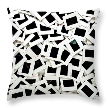 Slides Throw Pillow by Olivier Le Queinec