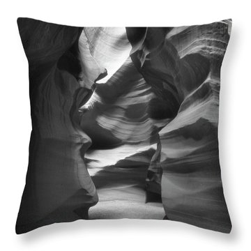 Slot Canyon 2 Throw Pillow