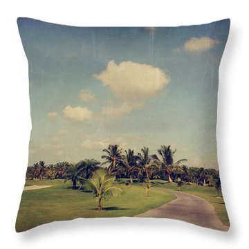 Slow And Steady Throw Pillow by Laurie Search