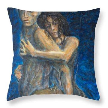 Slow Dancing Vi Throw Pillow