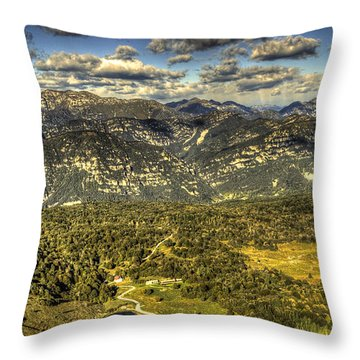 Throw Pillow featuring the photograph Small And Free Like A Bird by Julis Simo