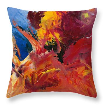 Small Passion 1 Throw Pillow