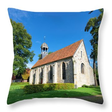 Small Roman Church Throw Pillow by Hans Engbers