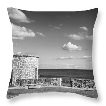 Small Tower Throw Pillow