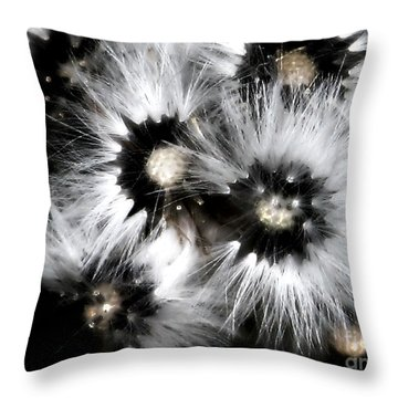 Small Worlds Throw Pillow