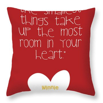 Smallest Things Throw Pillow