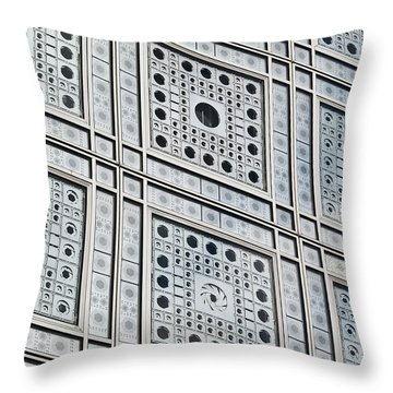 Smart Windows Throw Pillow by Gary Eason