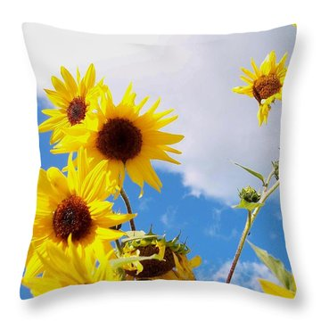 Smile Down On Me Throw Pillow