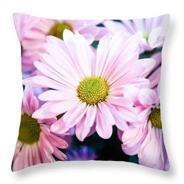 Smiling At You Throw Pillow