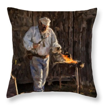 Smithie Throw Pillow