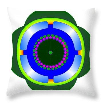 Sml-earth Throw Pillow