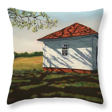 Smokehouse Throw Pillow by Alan Mager