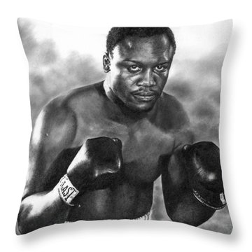 Smokin' Joe Throw Pillow