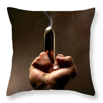 Take A Bullet ... Throw Pillow