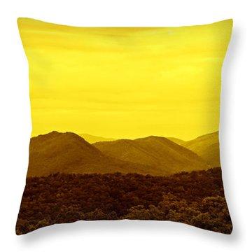 Alpen Glow Throw Pillows