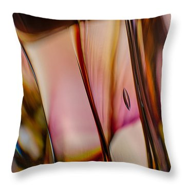Smooth Movement Throw Pillow by Omaste Witkowski