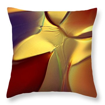 Smooth Moves Throw Pillow by Omaste Witkowski