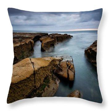 Smooth Seas Throw Pillow