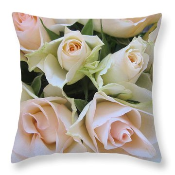 Smoothly Throw Pillow