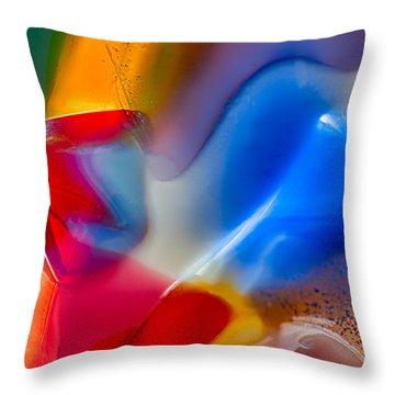 Smurfette Throw Pillow by Omaste Witkowski