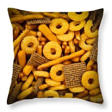 Snacks Throw Pillow by Elena Elisseeva