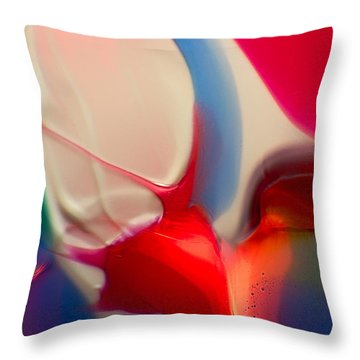 Snails Paradise Throw Pillow by Omaste Witkowski