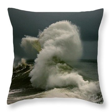 Snake Wave Throw Pillow