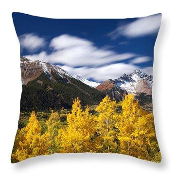 Sneffels Winds Throw Pillow by Darren  White