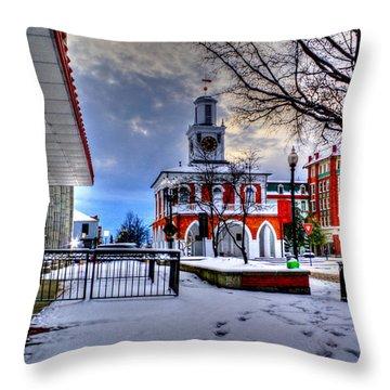 Historic 8 Throw Pillow