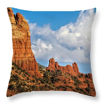Snoopy Rock Throw Pillow